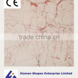 Sale white pink vein marble slab with superior quality