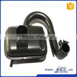 SCL-2013090368 high quality VESPA P150 exhaust muffler motorcycle spare parts from china yiwu
