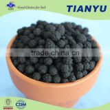 High efficiency fertilizer manufacturing plant Organic fertilizer humic acid black granular