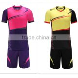 2016 new design custom soccer jersey sublimation Dry- fit kits high quality cheap blank sportswear
