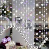 BC23 Wholesale handmade acrylic hanging bead door curtain bedroom curtains room divider for home decoration and living room