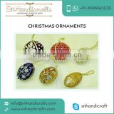 Traditional Design Decorative Christmas Ball Ornaments available at Popular Industry Rate
