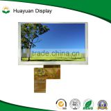 5 inch 480X272 tft HDMI lcd monitor,5 inch tft display module with touch panel