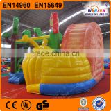 New design inflatable bounce house with blower fan for sale with CE EN71 approved for outdoor use