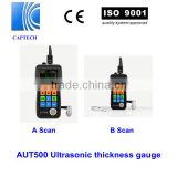 CE certified, Digital Pipe Ultrasonic Thickness Gauge AUT500DL with datalogge, color screen