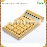 Inquiry about Factory Wholesale solar bamboo calculator handmade bamboo craft calculator made in china