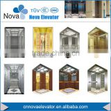 10 Persons 1m/s Geared/ Gearless Passenger Elevator Lift with Machine Room