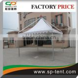 Manual assembly Commercial aluminum frame gazebo marquee tent for small event 3X3m