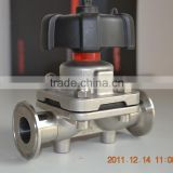 food grade sanitary stainless steel ss316 diaphragm valve in China