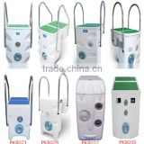 Pool full set filtration system with LED underater light and cleaning swimming pool filter