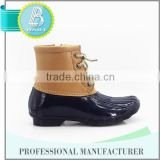 Newest Design 10 Years experience Latest design Waterproof rubber rain boots removable lining