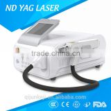 Active Q Switched Nd Yag Laser 1064nm & 532nm Laser Beauty Equipment Laser Tattoo Removal Q Switch Nd Yag Laser