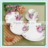 ceramic eating plate,chinese style porcelain dinner plates,ceramic porcelain personalize plates