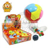 Colorful Self Assembled Intelligence Ball With Chocolate Bean Candy Toys