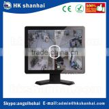 hot products 2017 cctv test monitor 15 inch 17 inch 19 inch lcd monitor with bnc input VGA/AV/BNC/HD