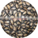 Black watermelon seeds with full kernels