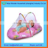 Portable baby sleep tent with mosquito net