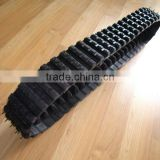 Best quality remote control undercarriage parts rubber track chain,rubber and steel track link assembly