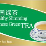 Chinese Healthy Herbal Slimming Green Tea bag