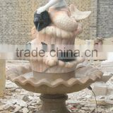 hand carved western style design marble stone mermaid fountain beautiful marble stone mermaid statue fountain