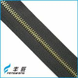 Wholesale price fancy metal zipper in roll