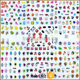 Factory Sale Top Quality Harajuku Water Transfer Nail Stickers Decoration
