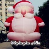6m Height Christmas Santa Claus Decorative Inflatable Zeus for Outdoor Decoration