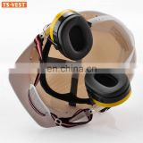 Cowboy Mining Fuction Of Electrical Safety Helmet With Chin Strap