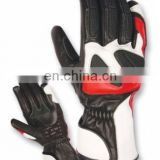 Professional Cowhide Leather Motorbike Gloves