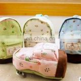 New Fashion Kawaii Fabric Canvas Mini Floral Backpack Women Girls Kids Cheap Coin Pouch Change Purses Clutch Bags
