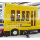 New Inflatable bus bouncer