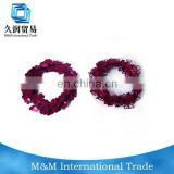 indian new year party garland with shinning glitter heart pendant