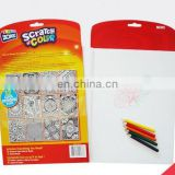 scratch color activity book