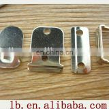 2013 high quality silver ,anti-brass metal buttons snap fasteners trouser hooks eye and bar for garment for garment