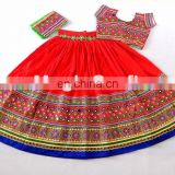 Banjara patchwork lehenga choli- Multicolor Cotton Chaniya choli- Navratri Special Choli