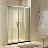 Tempered Glass Aluminum Frame Shower Screen
