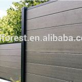 Cheap price bamboo plastic composite WPC exterior yard fencing
