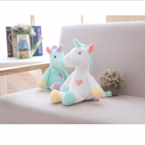 Plush Unicorn Wholesale Good Gift BabySafe Peluches Unicornio Pelucia