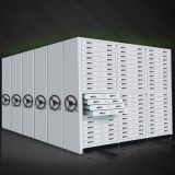 Factory Mobile Racking System Manual Mass Office Compact File Shelf //Metal cabinet steel locker movable