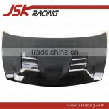 8 HOLE STYLE CARBON FIBER HOOD FOR 2006-2009 HONDA CIVIC FD2(JDM) (JSK121024)