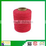 Natural Rose Red Latex Silk Rubber Elastic Thread Used Fabric Tape