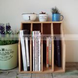 zakka wood file desktop storage box for sale