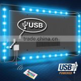 USB LED Light 5V TV Strip Light with USB Cable RGB Color waterproof IP65 TV USB Led Light