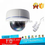 HD 1.0 Megapixels 720P Security IR LEDs Dome CCTV IP Camera ONVIF 2.4 indoor Cam Night Vision P2P cloud