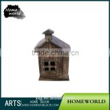 Artificial natural wooden gift and craft birdhouse decorative wedding favor