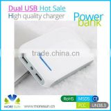 Real Capacity Powerbank , Rechargeable 10400 mAh Power Bank, Wholesale Portable 10400mAh Battery for iPhone / pad