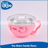 Food grade stainless steel baby feeding warmer bowl