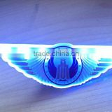 Led Pilot Wing Badge flashing light pilot badge pins