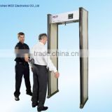 MCD-500A 6 Zone security metal detector Special Events Metal Detector walk through scanning door scanner gate