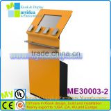 OEM ODM available cell phone charging kiosk, mobile phone charging kiosk, cell phone charging station kiosk